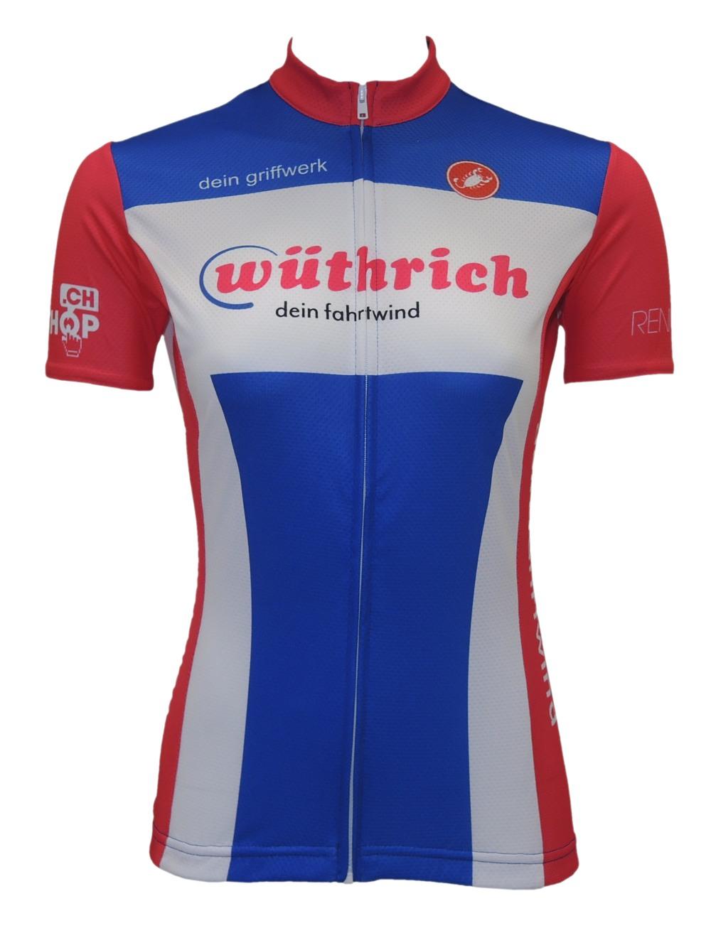 Castelli Team Trikot Damen GSWüthrich 2019